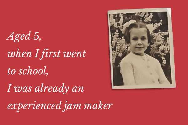about rosie making jam age 5