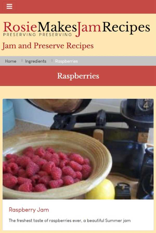jam and preserve making recipes
