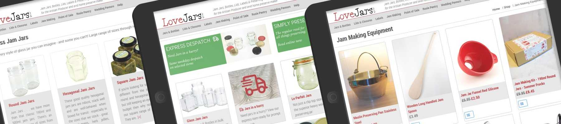 love jars online jam jar shop for jars, bottles, lids, labels and jam making equipment